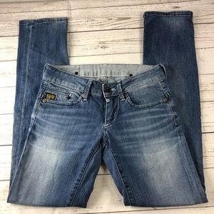 G-STAR RAW Mid Waist Skinny Jeans 28